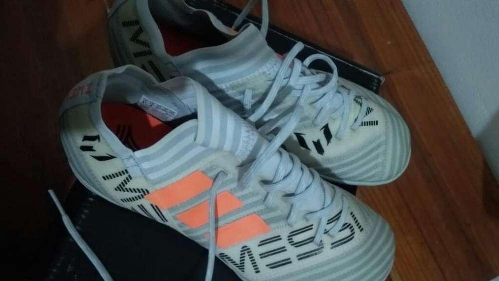 Botines Adidas F 5 Nvos N36- 1/2