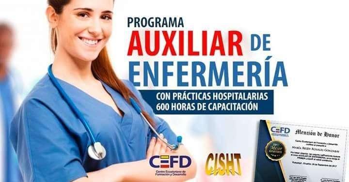 Curso de Auxiliar de Enfermeria