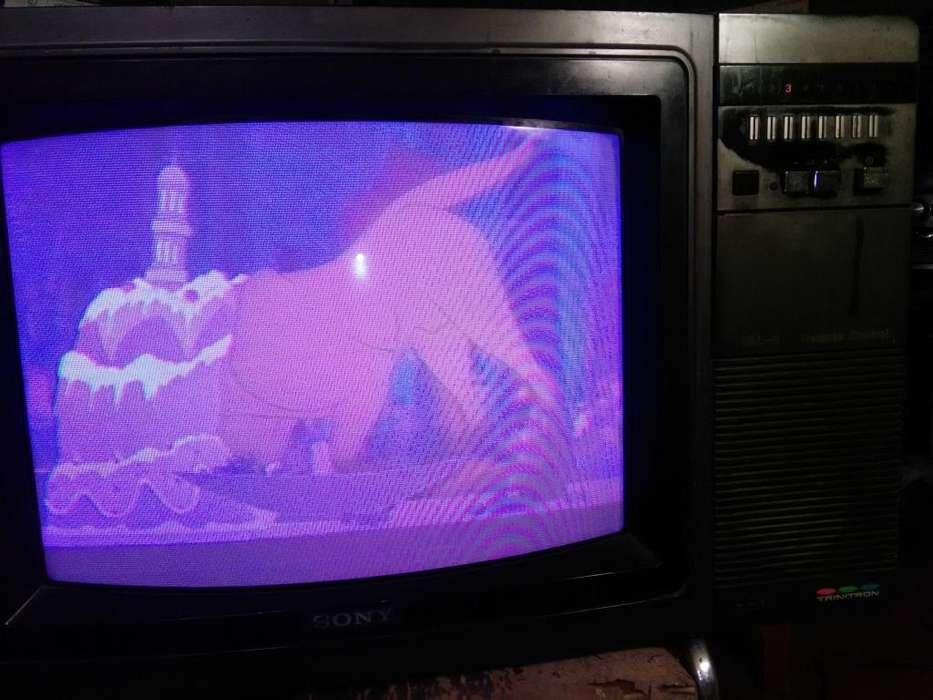 Tv Sony Trinitron Kv2022an, En Buen Estado Y Funcionando.