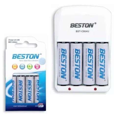 Baterias Beston Aa/aaa Recargable X 4 Pack Carg