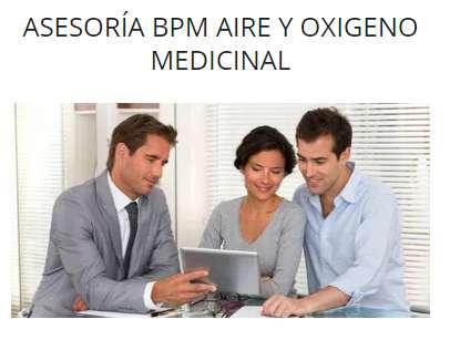 Asesoría Integral en BPM de aire y oxigeno medicinal