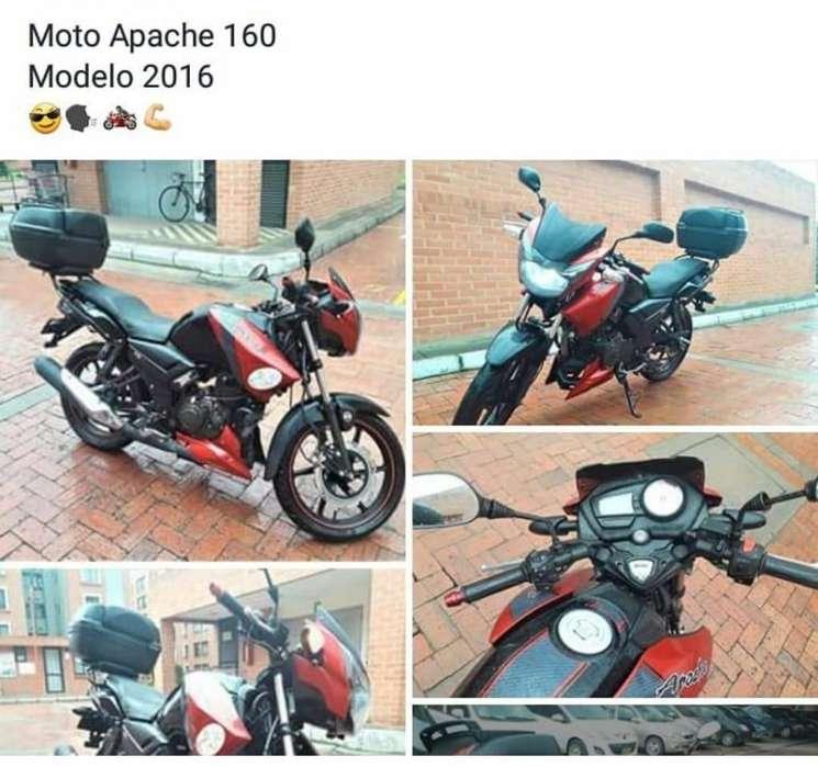 Vendo Moto TVs Apache RTR 160