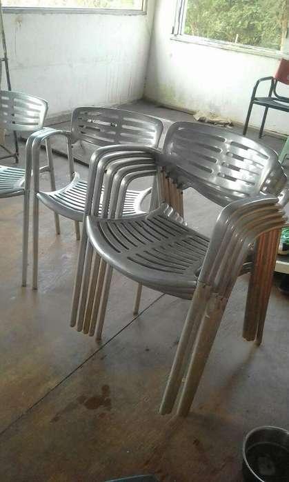 <strong>silla</strong>s de Aluminio