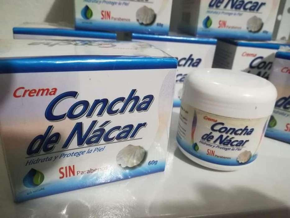 Crema Aclaradora Concha de Nácar 60 Gram