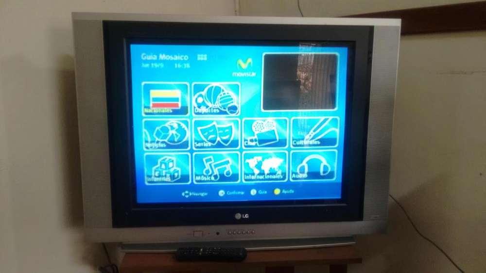 TV LG 29 Pulgadas pantalla plana convencional