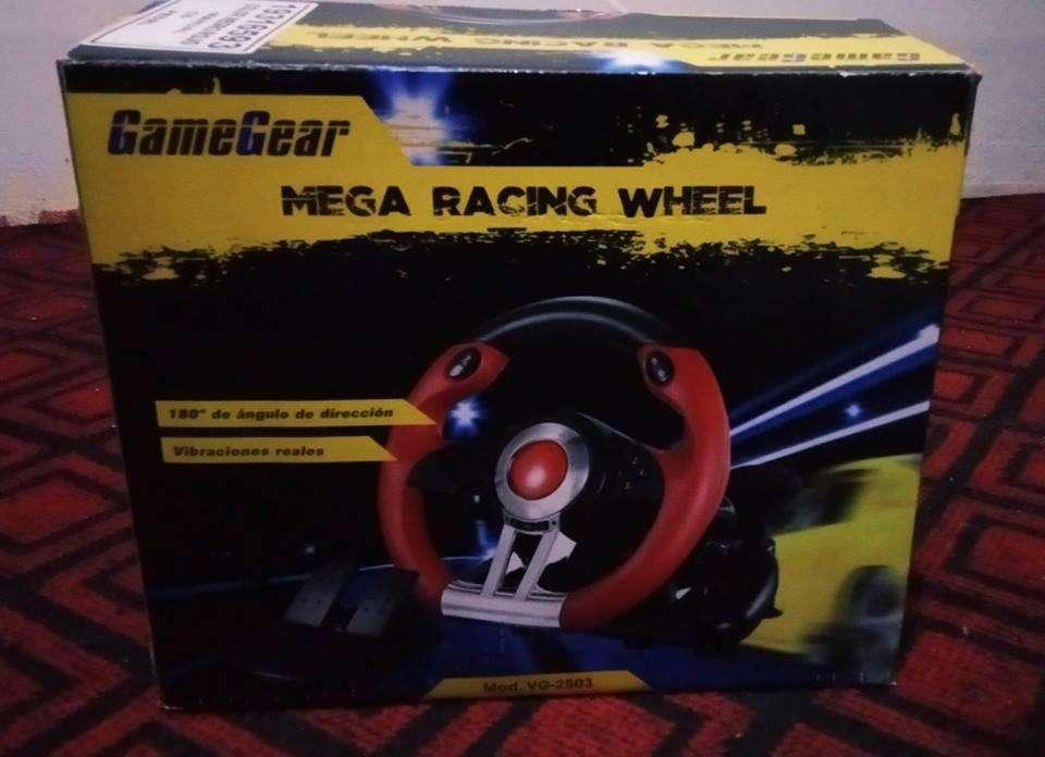 Volante Timon Pedales Xbox Ps4 Ps3 Pc Gamegear