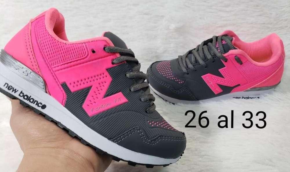 Zapatillas Nb Niño
