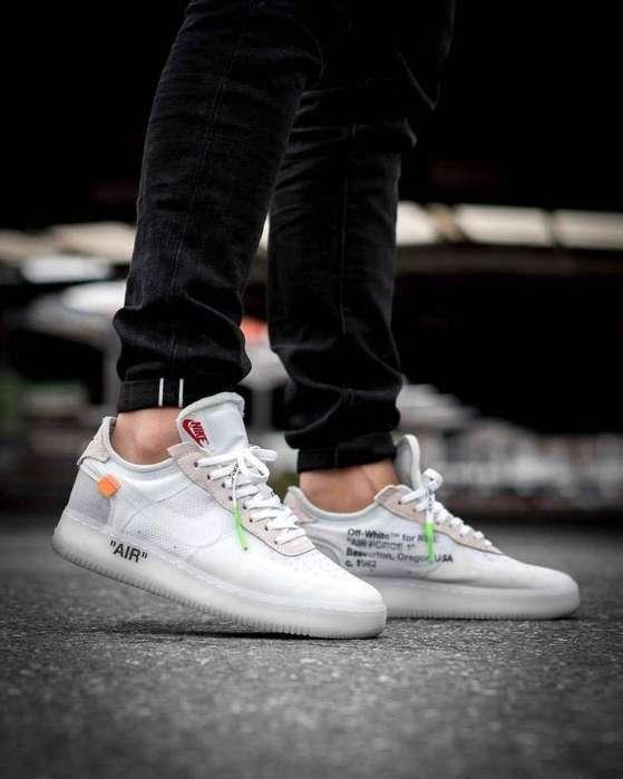 Talla 41 .. Remato 220 Soles Nike Off Wh