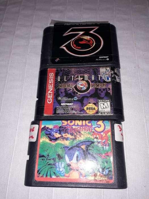 Juego de Sega Genesis