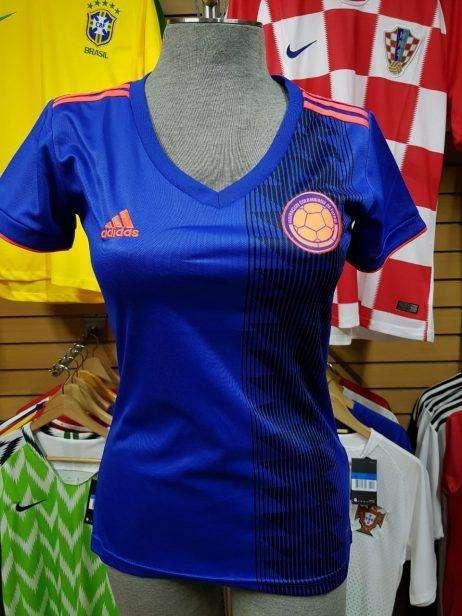 Camiseta Selección Colombia Hombre y Mujer Todas las Tallas