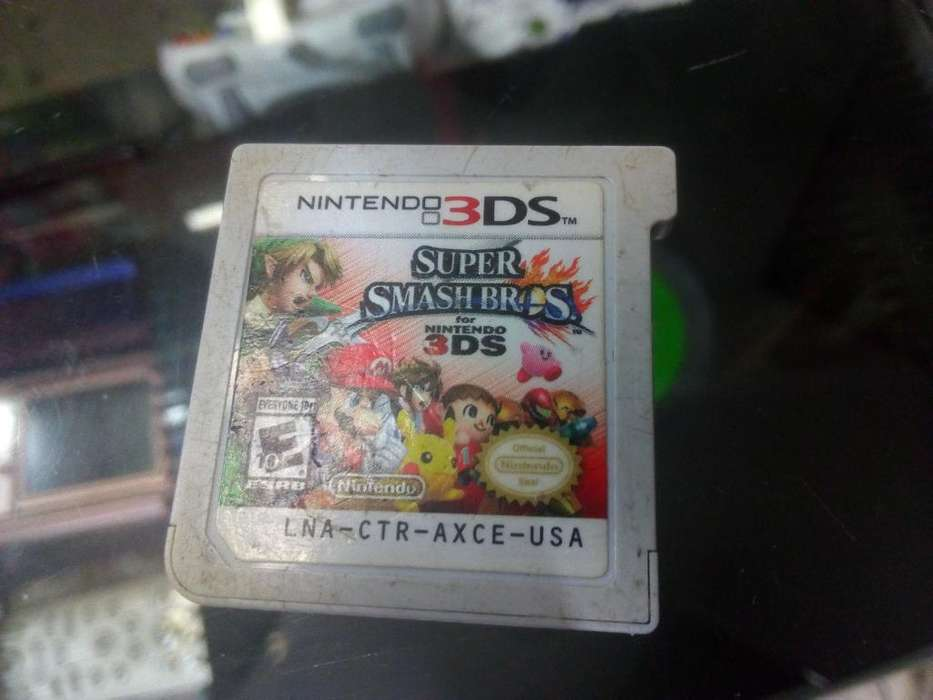 Smash Bross 3ds en Estado 8/10