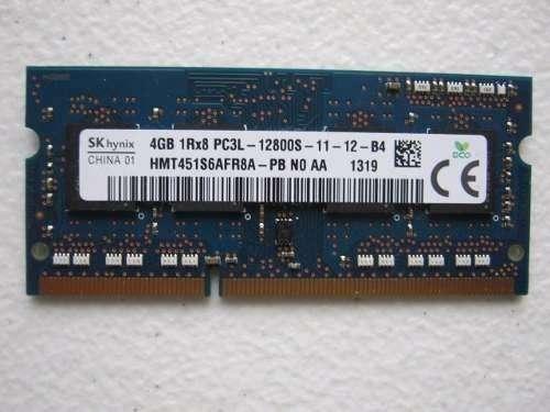 Memoria ram ddr3 4 gb portatil