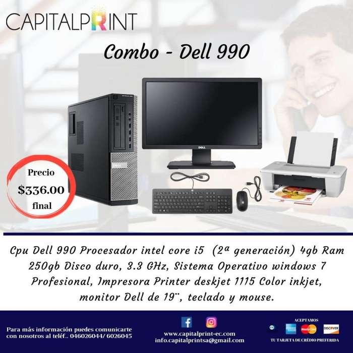 COMPUTADORA DELL-GX990 IMPRESORA