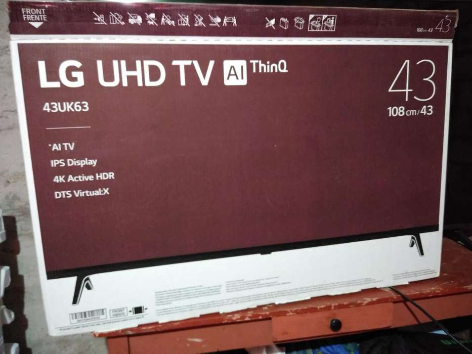 Smart Tv Uhd de 43 Lg