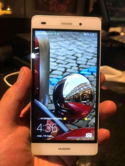 Huawei P8 Lite Negro
