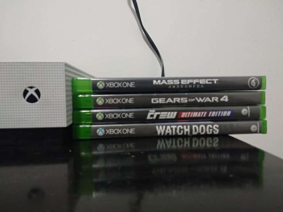 Xbox One S Como Neva