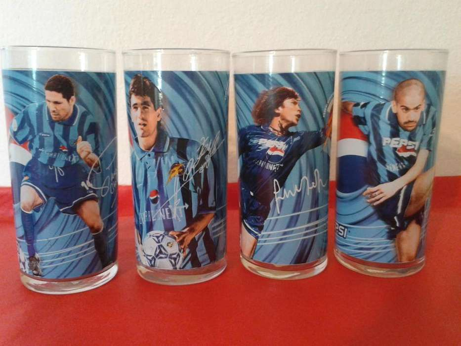 vasos Pepsi jugadores futbol Mundial 98