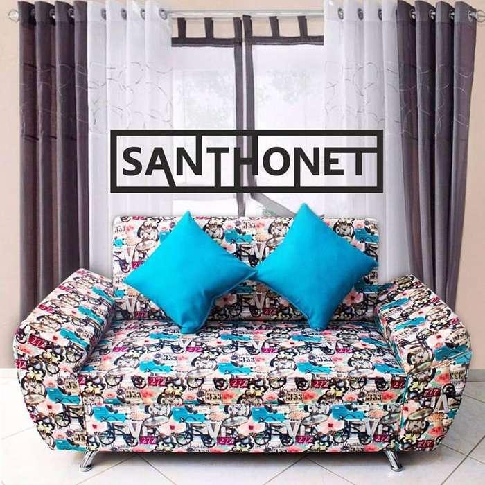 Sofa 2 Ptos a Credito
