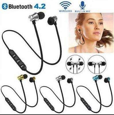 Espectacular auricular Bluetooth 4.2 Inalámbrico Magnético