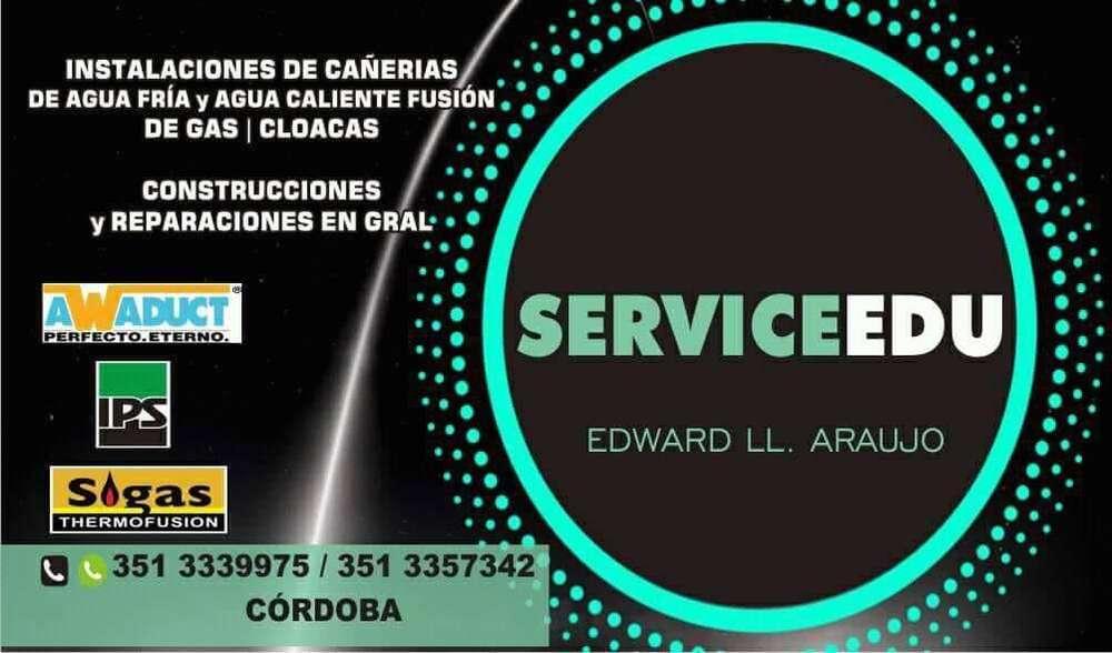 SERVICE EDU: PLOMERIA INSTALACIONES Y REPARACIONES EN GENERAL