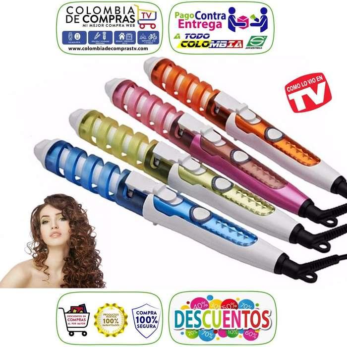 Rizador Profesional Cerámica Curl Perfect 7 En 1 Colors, Nuevos, Originales, Garantizados...
