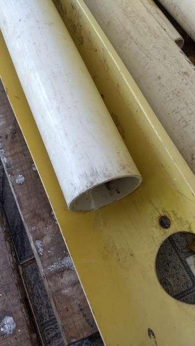 Tubos de 3 Pulgadasx 6 Mtos Largo