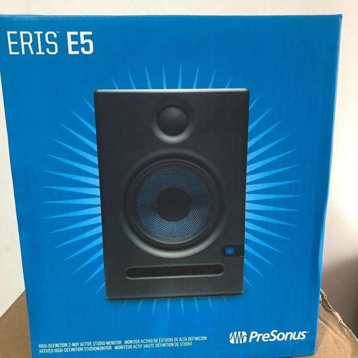 Monitores de estudio Presonus ERIS E5