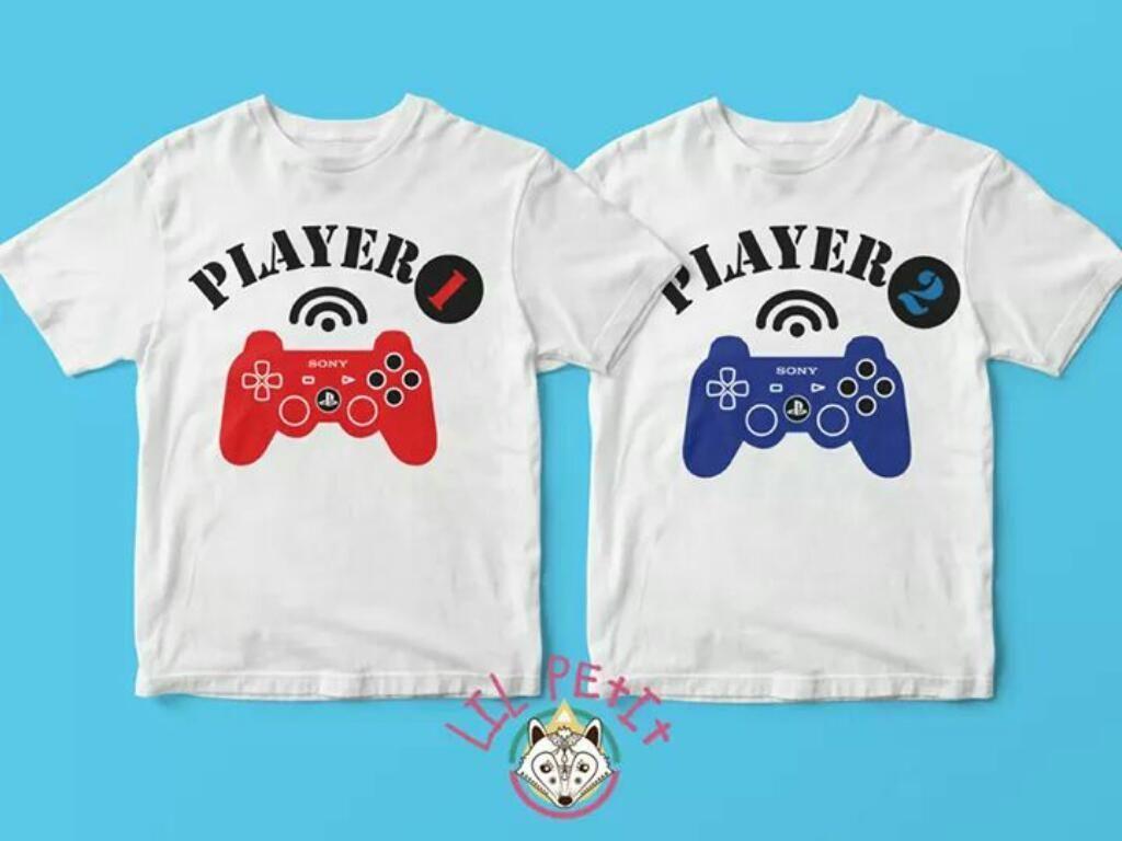 Camisetas Personalizadas Gemelos Mellizos