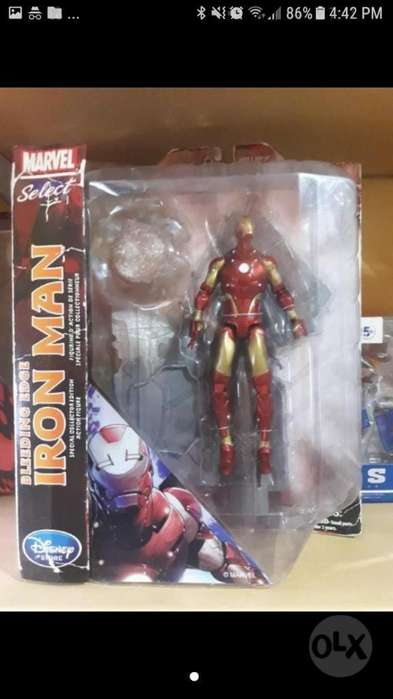 Marvel Select Figura Iron Man