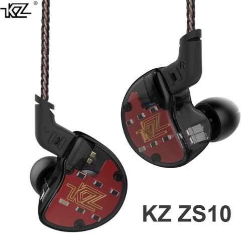 Audífonos Kz Zs10 Hifi Profesionales Estudio Dj Monitoreo