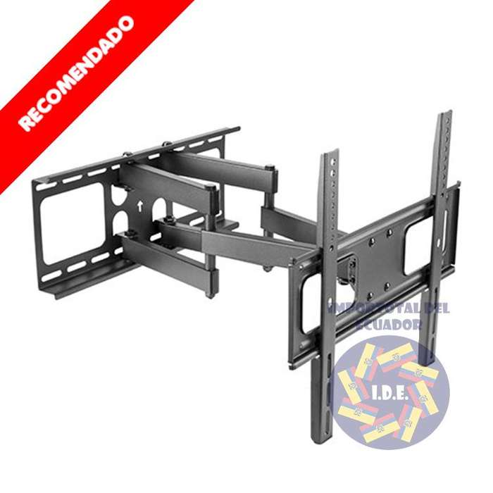 Soporte de pared brazo doble ''nuevo'' tv plana o curved de 26 a 55 pulgadas / Resiste hasta 99 libras