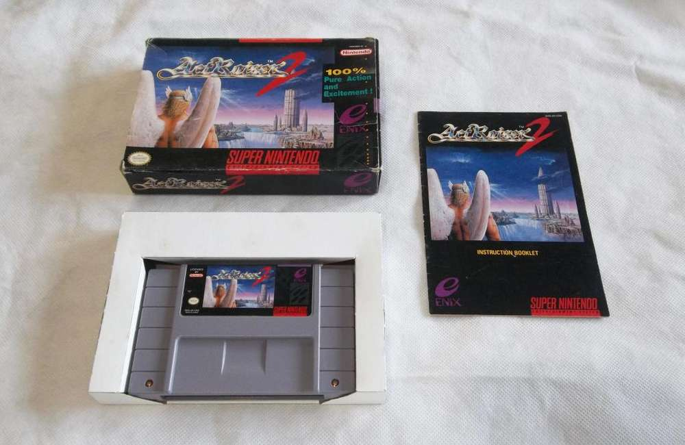 Actraiser 2 Super Nintendo SNES - Pixelfunk