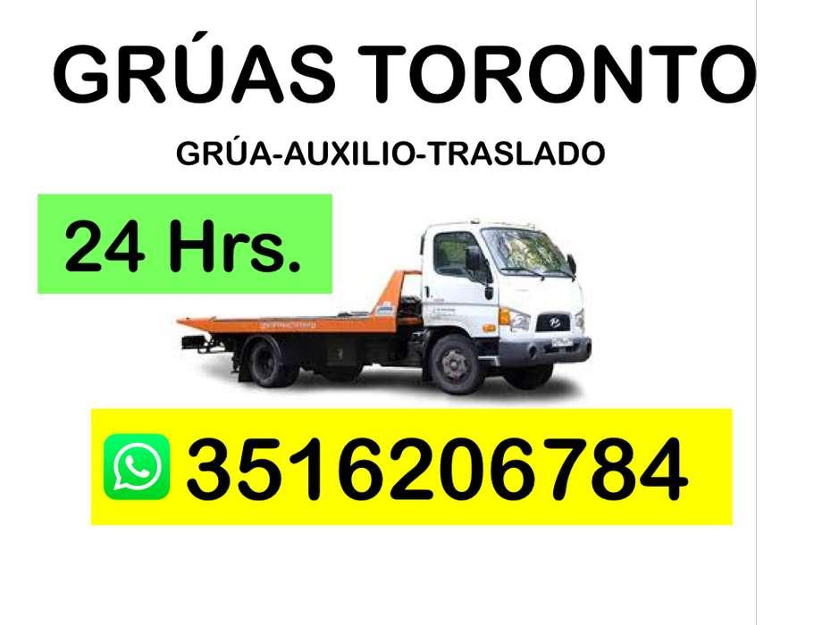 Servicio Grúas Auxilio Traslado las 24 horas