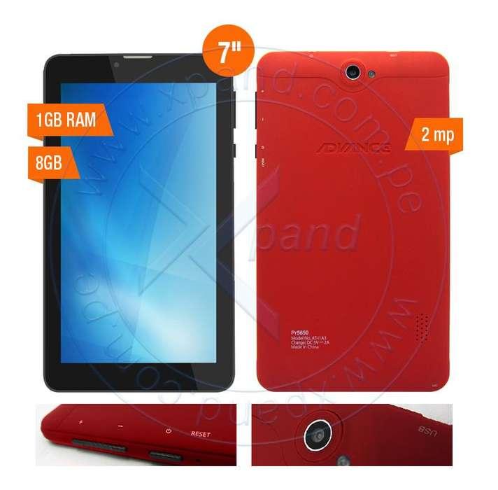 Tablet Advance Prime PR5650 7' Android 7 3G Dual SIM 8GB 1GB