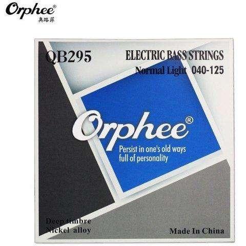 Encordado Orphee Nickel Alloy QB295 Deep Timbre Para Bajo 5 Cuerdas .45125