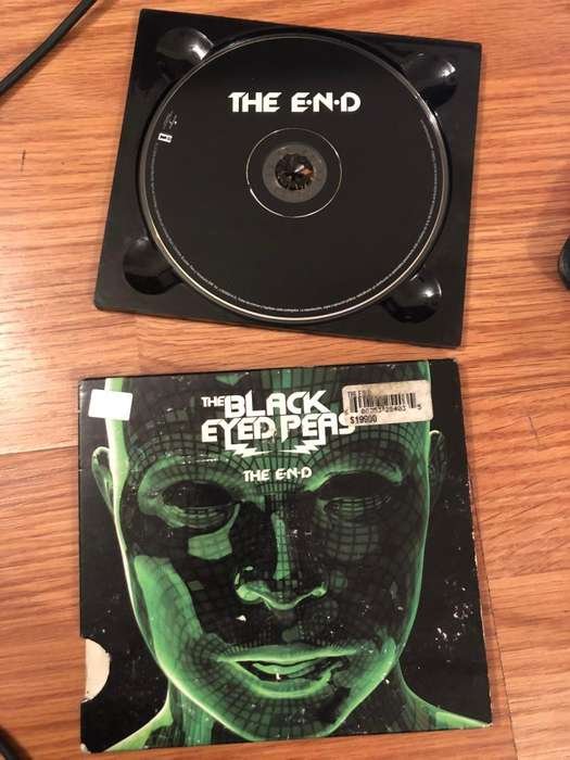 the black eyed peas the end cd original