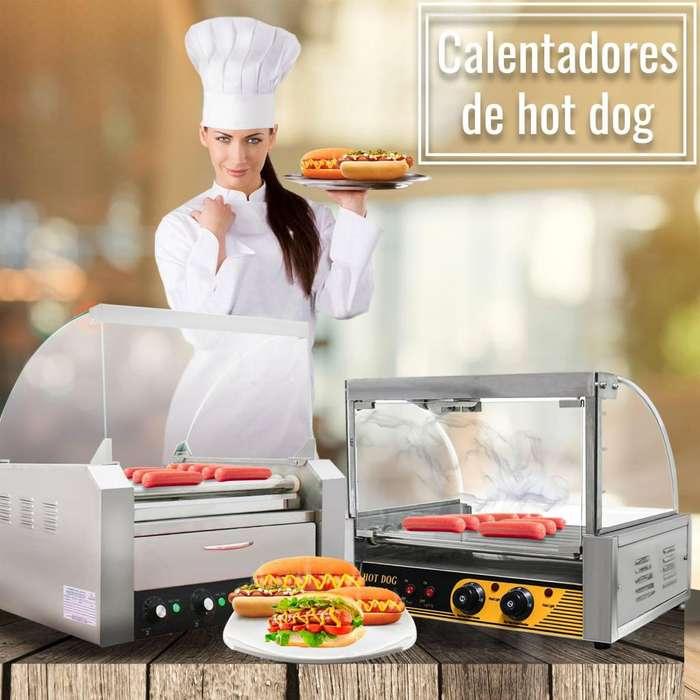 CALENTADOR DE HOT DOGS - BRIMALI INDUSTRIAL