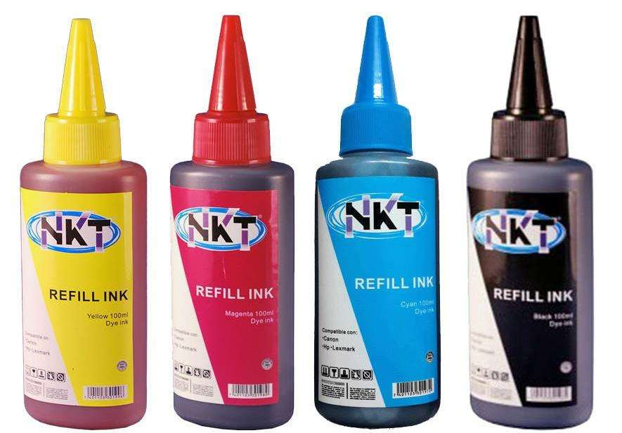 BOTELLAS DE TINTA NKT UNIVERSAL SERIES 100ML