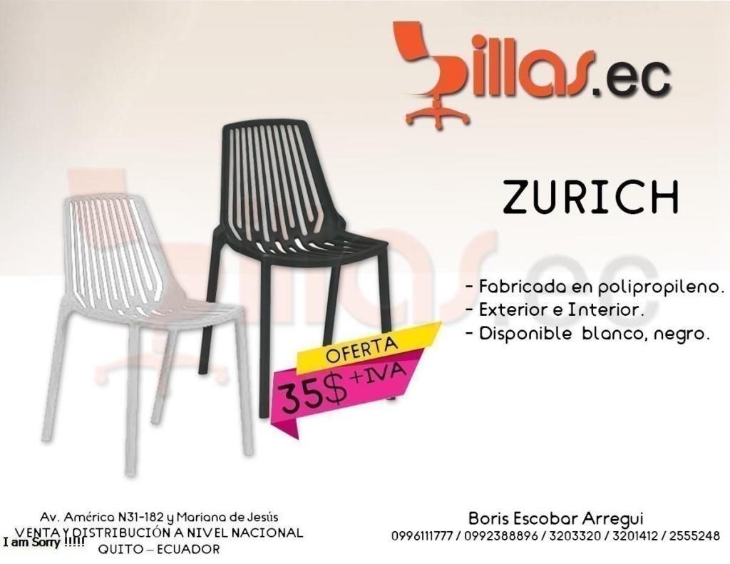 silla exterior plastico