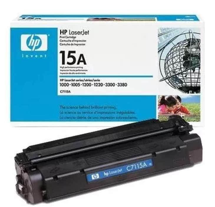 Toner Hp 15a Laserjep C7115a Nuevo Original