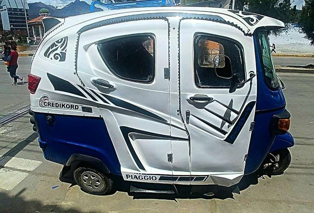 Venta de Moto-taxi (gas-gasolina)