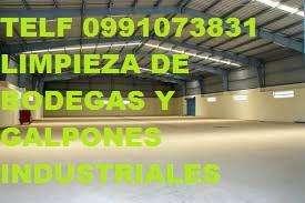 LIMPIEZA DE PROFUNDA DE OBRA TERMINADA Telf 0983439614