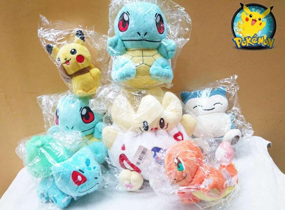 Peluches de pokemon de varios modelos