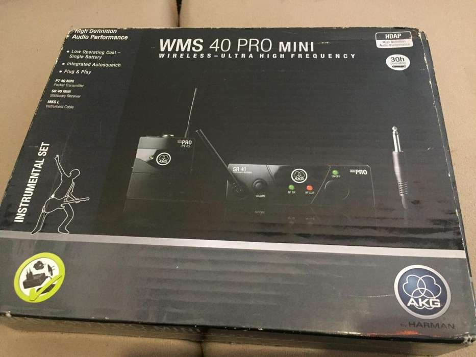 AKG WMS 40 Mini Instrument Wireless