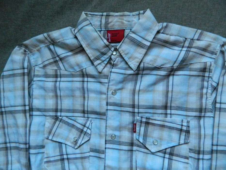 <strong>camisa</strong> Levi's slim fit talle 37 medium chico
