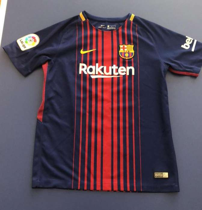 Camiseta Nike Barcelona Talla L Niño