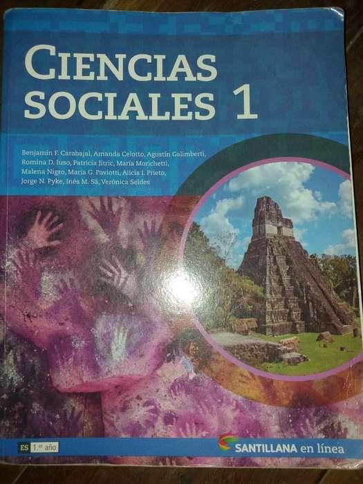 Ciencias Sociales 1 Edit Santillana