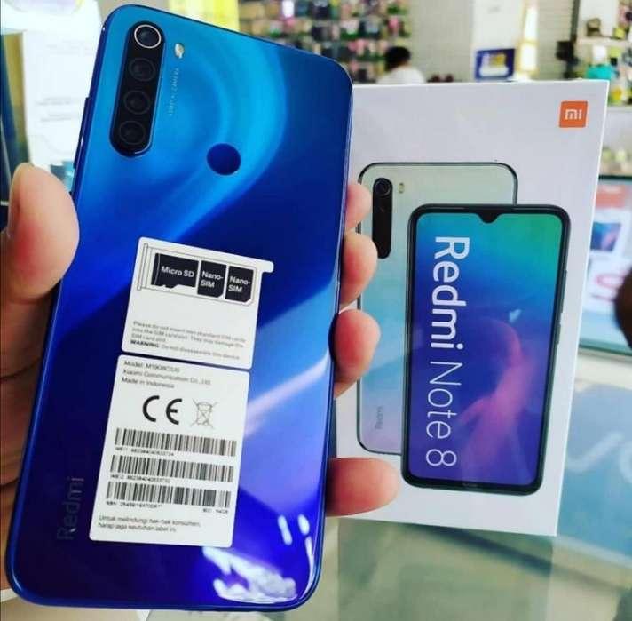 Xiaomi Redmi Note 8 64gb Nuevos Sellados
