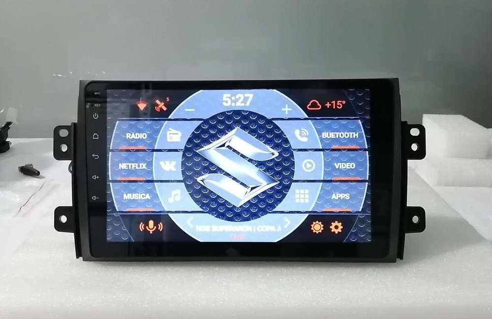 Nueva Radio Suzuki Sx4 2006 2007 2008 2009 2010 2011 2012 2013 Android 7.1 Full Wifi