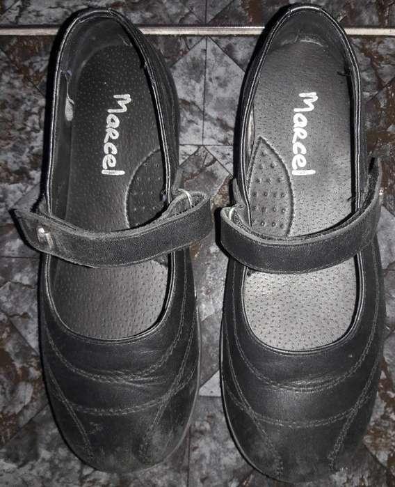 Zapatos Colegiales Guillerminas Marcel numero 35 usados en buen estado
